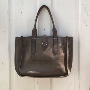 Frye leather tote bag